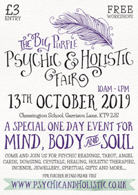 The Big Purple Psychic & Holistic Fair
